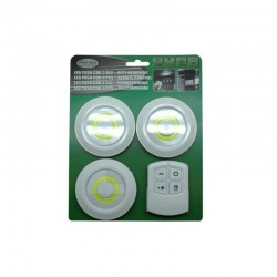 LED PUSH COB 3 DLG + AFST...