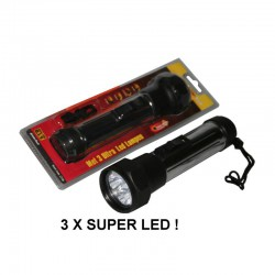 ZAKLAMP SUPER 5 X LED