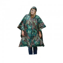 PONCHO CAMOUFLAGE